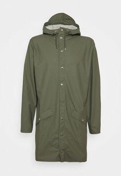 Rains - LONG JACKET UNISEX - Regenjacke / wasserabweisende Jacke - olive