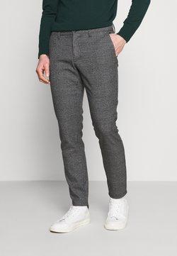 Only & Sons - ONSMARK PANTS CHECK - Stoffhose - medium grey melange