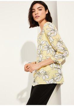 comma casual identity - Langarmshirt - yellow small flower