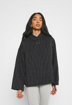 Nike Sportswear - HOODIE - Sweatshirt - black/smoke grey