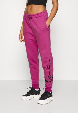 Karl Kani - SIGNATURE  - Jogginghose - darkpink