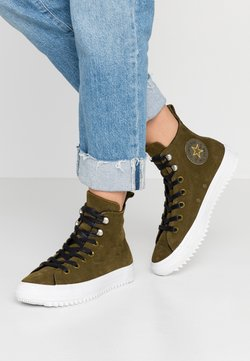 Converse - CHUCK TAYLOR ALL STAR HIKER FINAL FRONTIER - Baskets montantes - surplus olive/white/black