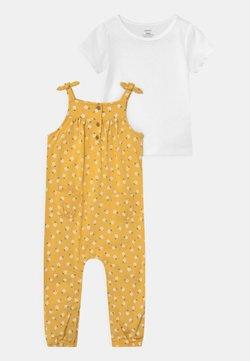 Carter's - DOT SET - T-Shirt print - yellow