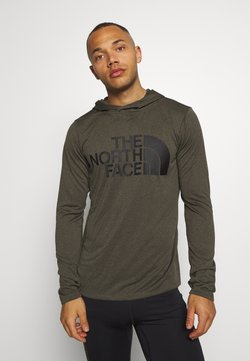 The North Face - BIG LOGO - Funktionsshirt - new taupe green heather
