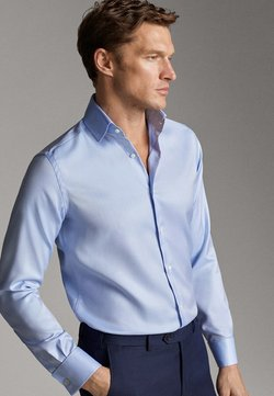 Massimo Dutti - TAILORED FIT - Businesshemd - light blue