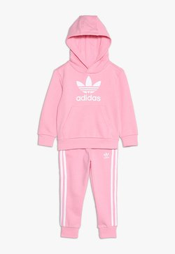 adidas Originals - TREFOIL HOODIE SET - Hoodie - light pink/white