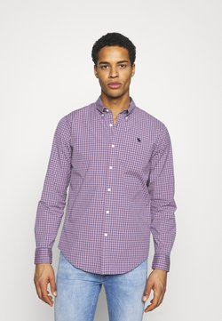 Abercrombie & Fitch - GINGHAM  - Hemd - red/blue