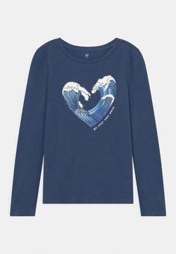 GAP - GIRL - Pitkähihainen paita - blue shade