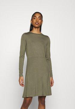 Vero Moda - VMFRIDA SKATER  - Jerseykleid - kalamata