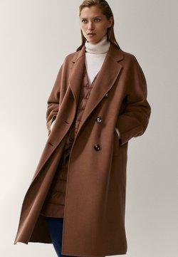 Massimo Dutti - Wollmantel/klassischer Mantel - brown