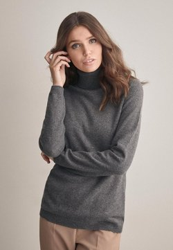 Falconeri - MIT LANGARM - Strickpullover - mottled grey