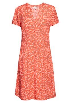 Esprit - CORE FLUID - Day dress - coral