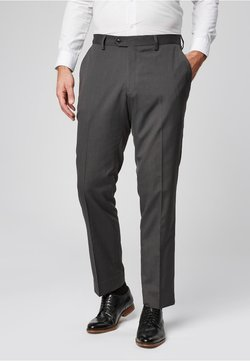 Next - SUIT TROUSERS - Anzughose - grey