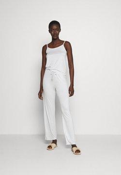 ONLY - ONLKIRI STRAP NIGHTWEAR SET - Pyjama - white/blue