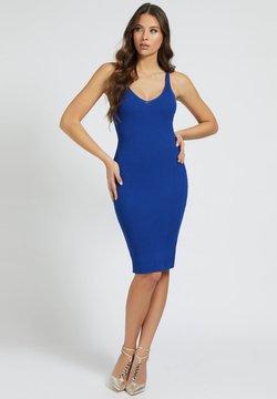 Guess - ANLIEGENDES - Vestido de tubo - blau