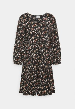 JDY - JDYCLAUDE VNECK DRESS - Korte jurk - black