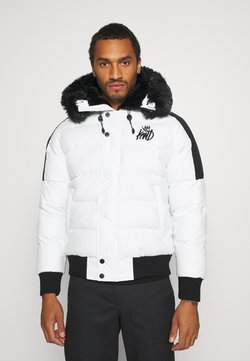Kings Will Dream - PUFFER BOMBER JACKET - Winterjacke - white