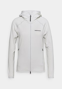 Peak Performance - CHILL ZIP HOOD - Fleecejacke - antarctica