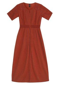 YAS - YASKAILEY THROW OVER FEST - Robe d'été - red ochre