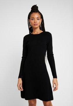 ONLY - ONLNEW DALLAS O NECK DRESS - Strickkleid - black