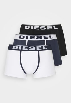 Diesel - DAMIEN 3 PACK - Panties - white/blue/black