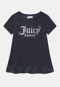 Juicy Couture - BABY HEART ONE FRILL HEM - Vestido informal - night sky