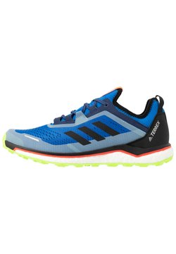 adidas Performance - TERREX AGRAVIC FLOW - Trail hardloopschoenen - glow blue/core black