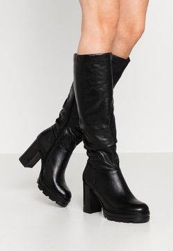 MJUS - Laarzen met hoge hak - nero