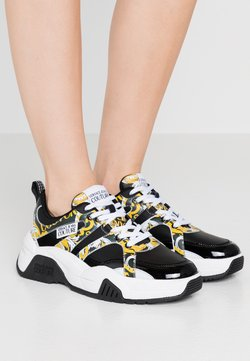 Versace Jeans Couture - Sneakers laag - black/yellow
