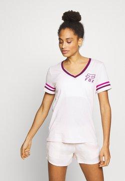 Fox Racing - HERITAGE FORGER - T-Shirt print - light pink