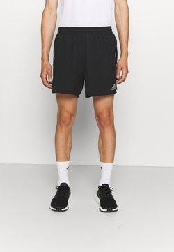 adidas Performance - SATURDAY SHORT - Krótkie spodenki sportowe - black