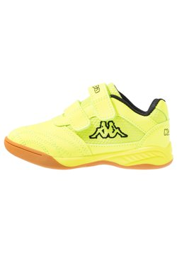 Kappa - KICKOFF - Gym- & träningskor - yellow/black