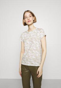 rag & bone - ALL OVER CAMO TEE - T-Shirt print - ivorymult