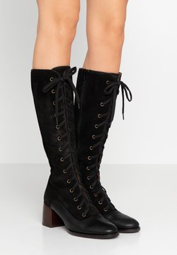 Chie Mihara - Lace-up boots - black