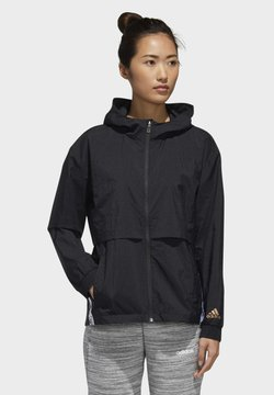 adidas Performance - U4U WINDBREAKER - Cortaviento - black