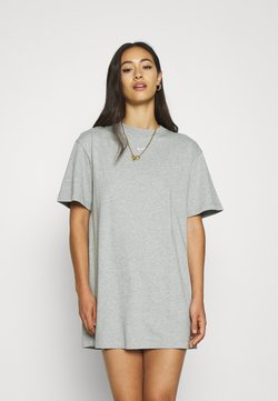 Nike Sportswear - DRESS - Vestido ligero - dark grey heather/white