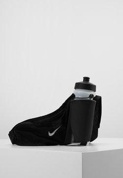 Nike Performance - LARGE BOTTLE BELT 22OZ  - Cantimplora - black/black/silver