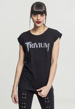 Merchcode - TRIVIUM  - T-Shirt print - black