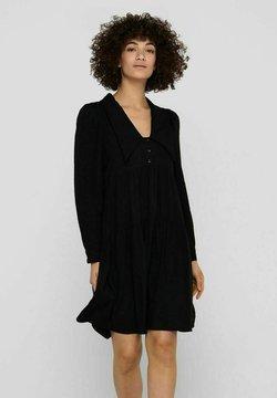 ONLY - Vestido camisero - black