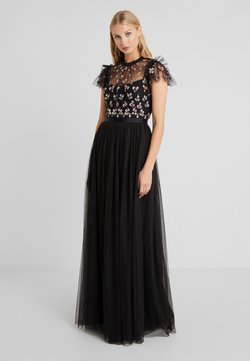 Needle & Thread - ROCOCO BODICE MAXI DRESS - Abito da sera - ballet black