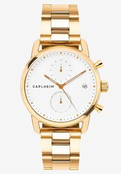 Carlheim - Rannekello ajanottotoiminnolla - rose gold/white