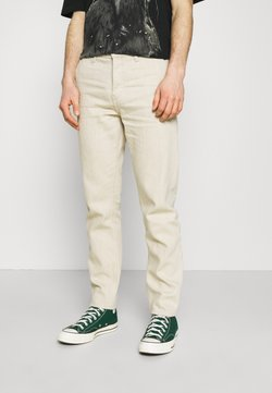 Weekday - BARREL - Jeans Tapered Fit - washed linen