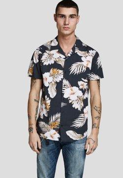 Jack & Jones PREMIUM - KLASSISCHES HAWAII - Shirt - black
