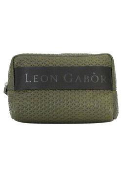 Leon Gabòr - Trousse - grün