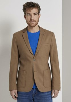 TOM TAILOR - CASUAL STRUCTURE - Anzugsakko - brown
