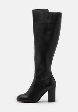 YAS - YASLARNA KNEE HIGH BOOTS - Stiefel - black