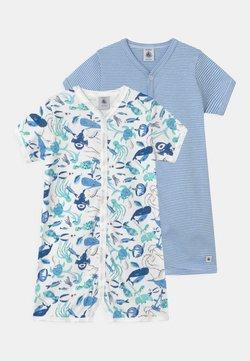 Petit Bateau - COMBICOURTS 2 PACK - Pyjama - white/blue