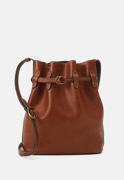Polo Ralph Lauren - DRAWSTRING LARGE - Bolso de mano - brown