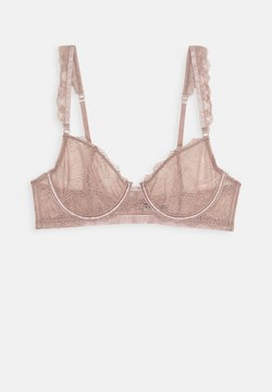 Nly by Nelly - MEMORY LANE BRA - Beugel BH - mauve