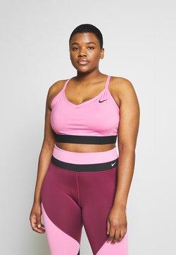 Nike Performance - INDY PLUS SIZE BRA - Sport BH - magic flamingo/black